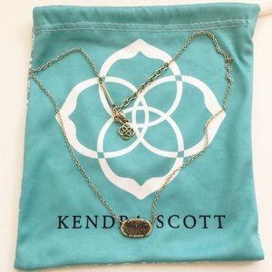 Kendra Scott Drusy Eliza Necklace in Gold